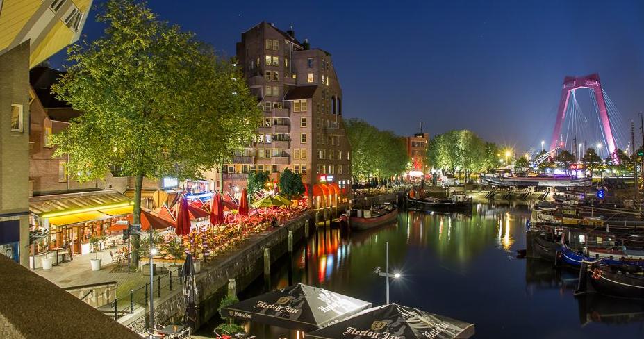 روتردام هولندا وأفضل 6 معالم سياحية موجودة بها
