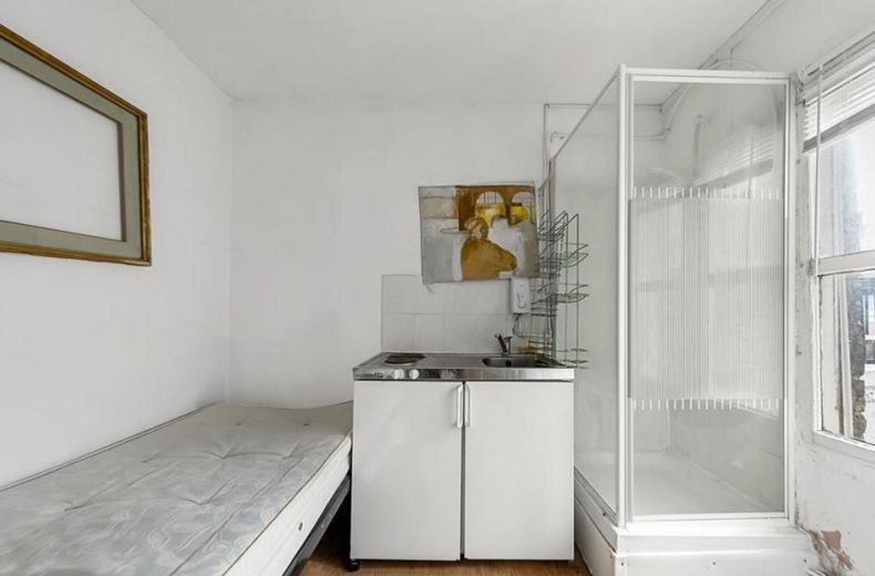 شقة مصغرة مساحتها 75 قدم للبيع مقابل 175 ألف جنيه إسترليني في لندن (صور)